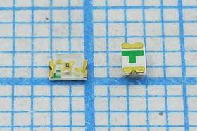 Светодиод желтый SMD 0805, 6мКд, 130°, 585нМ (yellow), № 7339 S СД SMD02013C2\жел\ 6\130\пр\FYLS-0805YC\