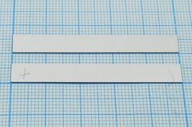 Ультразвуковая прямоугольная пластина 50x6.2x0.3мм, 33кГц, пэу 50x 6,2x0,3\пластина\ 33кГц\\ЦТС-35\\\