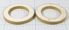 Ультразвуковое кольцо излучатель из пьезокерамики 56xd36x6мм, пэу 56xd36x6\кольцо\ 20кГц\\ЦТС-19\\\