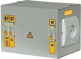 Ящик с понижающим трансформатором ЯТП 0.25 220/36B (2 авт. выкл.) ИЭК MTT12-036-0250