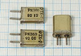 кварцевый резонатор 6.5825МГц в корпусе с жёсткими выводами МА, 6582,5 \HC50U\\\\РК169МА\1Г (6.5)