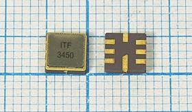 Фото 1/2 ПАВ резонаторы 345МГц в корпусе SMD 5x5мм, россыпь, SAW 345000 \S05050C8\\220\\R34501\ (ITF3450)