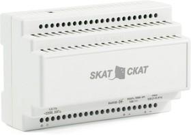 Фото 1/2 SKAT-12-3,0 DIN power supply 12V 3A plastic case for 35 mm DIN rail, SKAT-12-3,0 DIN источник питания 12В 3А пластиковый корпус под DIN рейк