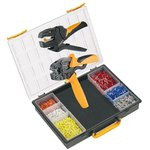 Crimp-Set PZ4, Набор инструмента для обжима (инструмент + наконечники)