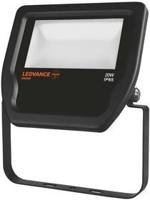 FLOODLIGHT 20W/4000К LED 20Вт IP65 4000К, Прожектор светодиодный, 220В, черный