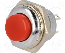 PS502MC-R, Переключатель кнопочный Положения 2 SPDT красный