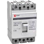 Автоматический выключатель ВА-99 250/200А 3P 35кА EKF PROxima | mccb99-250-200 | EKF