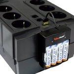 Фото 2/3 BR850ELCD, Back-UPS BRICs, Line-Interactive, 850VA / 510W, Tower, 8 Schuko, LCD, USB