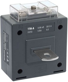 Трансформатор тока ТТИ-А 250/5А с шиной 5ВА класс точности 0.5S