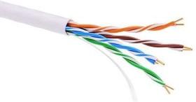 Фото 1/2 Кабель информационный неэкранированый U/UTP 4х2 кат.5е PVC бел. ДКС RN5EUUPV3WH (за 1 м)