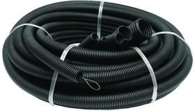 Труба гофр. 50мм ПНД (черная) с зондом легкая