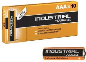 Элемент питания алкалиновый Industrial LR03 (карт. коробка 10шт) Duracell Б0032840