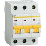 Выключатель автоматический модульный 3п B 16А 4.5кА ВА47-29 ...