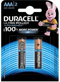 Фото 1/2 Ultra Power LR03 (MX2400/А286/AAA)2, Элемент питания алкалиновый (2шт) 1.5В