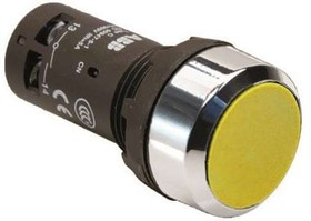 Кнопка CP2-30Y-11 с фикс. 1HO+1Н3 жел. ABB 1SFA619101R3073