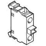 Блок контактов MCB-01B для боксов 1Н3 ABB 1SFA611610R2010