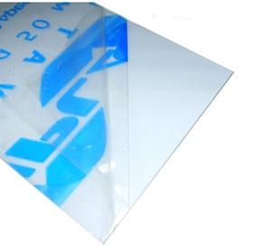 Монолитный поликарбонат 3 х 200 х 300 мм (прозрачный)