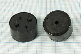 Фото 1/2 Излучатель звука пьезоэлектрический со встроенным генератором (3~24)В, 2кГц, згп 30x18\ 3~24\\2,0\2P15\ CBG3020AP\DAE YOUNG