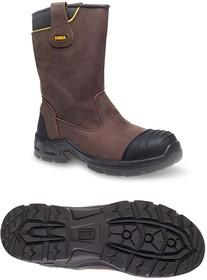 Фото 1/2 MILLINGTON 9, Millington Brown Composite Toe Waterproof Boots, UK 9, US 10