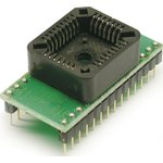 DIP28-PLCC32, Адаптер для программирования микросхем 8-512 ...