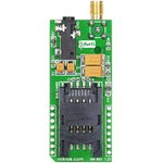 Фото 2/4 MIKROE-1298, GSM Click, Встраиваемый GSM/GPRS (850/900/1800/1900МГц) модуль форм фактора mikroBUS на основе GL865-QUAD