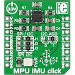 Фото 3/4 MIKROE-1577, MPU IMU click, Датчик отслеживания движения форм-фактора mikroBUS (гироскоп, акселерометр,Digital Motion Processor)