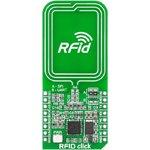 Фото 3/4 MIKROE-1434, RFid click, Приемопередатчик RFid 13.56 МГц форм-фактора mikroBUS