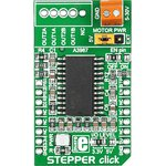 Фото 3/4 MIKROE-1528, STEPPER click, Драйвер управления шаговым двигателем форм-фактора mikroBUS