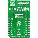 Фото 2/4 MIKROE-1528, STEPPER click, Драйвер управления шаговым двигателем форм-фактора mikroBUS