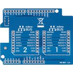 Фото 3/3 MIKROE-1581, Arduino UNO click shield, Плата расширения для подключения модулей mikroElektronika серии click (mikroBUS) к Arduino UNO