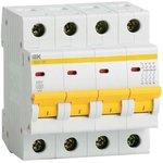 Выключатель автоматический модульный 4п C 32А 4.5кА ВА47-29 ...