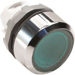 Кнопка MP1-21G без фикс. с инд. зел. ABB 1SFA611100R2102