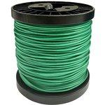 Фото 2/2 Провод силиконовый 20AWG 0,5 мм кв 100 м (зеленый)
