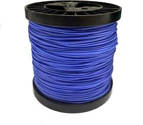 Провод гибкий медн. луж AWG 20 (0,5 мм кв) синий 100 м