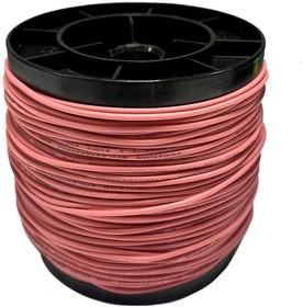 Фото 1/2 Провод силиконовый 24AWG 0,2 мм кв 100 м (розовый)