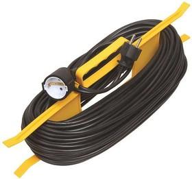 Удлинитель силовой 1 розетка шнур 10м ПВС 2х0.75 УР10