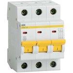 Выключатель автоматический модульный 3п B 10А 4.5кА ВА47-29 ...