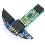 Фото 2/5 LSM303DLHC Board, Электронный компас (3D акселерометр, 3D магнетометр) на базе LSM303DLHC, интерфейс I2C