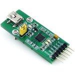 Фото 5/5 CP2102 USB UART Board (mini), Преобразователь USB-UART на базе CP2102 с разъемом USB mini-AB