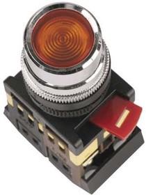 Кнопка ABLF-22 жел. 1з+1р ИЭК BBT10-ABLF-K05