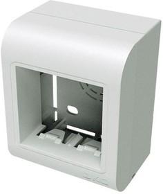 Коробка установочная PDM под 2 модуля 45X45 мм