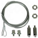 Комплект подвеса прямой для светильника LNB/LNK (2 троса+2 ...
