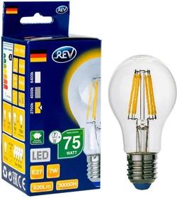 Лампа светодиодная REV RITTER 32353 2 7Вт E27 540лм 2700К теплый свет