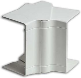 Угол внутренний 100х60/40 разводной бел. Рувинил УВН-100х60