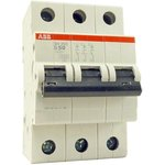 Выключатель автоматический модульный 3п C 1А 6кА S203 ABB ...