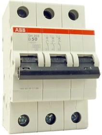 Выключатель автоматический модульный 3п C 1А 6кА S203 ABB 2CDS253001R0014