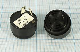 Фото 1/2 Излучатель звука пьезоэлектрический со встроенным генератором (5~30)В, 2.9кГц, згп 36,0x24\ 5~30\\2,9\2T\ KPI-3710\KEPO
