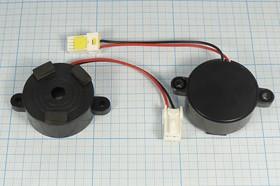 Фото 1/2 Излучатель звука пьезоэлектрический со встроенным генератором (5~16)В, 3.2кГц, згп 42x16m60\ 5~16\\3,2\2L\ AW4B42GEL085-29A0Z\1Ton