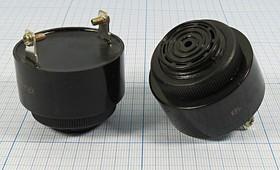 Излучатель звука пьезоэлектрический со встроенным генератором 220В и непрерывным звучанием, 2.9кГц, згп 43x33\~220\\2,9\2T\ KPI-G4320-230\1T