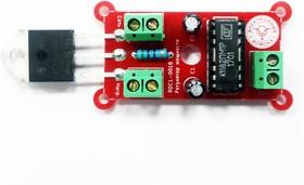 Фото 1/2 RDC1-0018a, Регулятор мощности на симисторе BTA41-600 и микросхеме К1182ПМ1Р